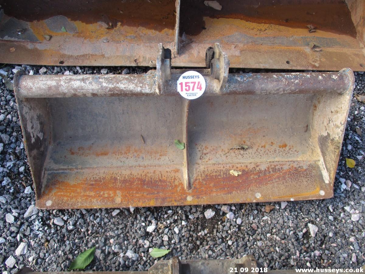 Lot 1574 - 3FT GRADING BUCKET