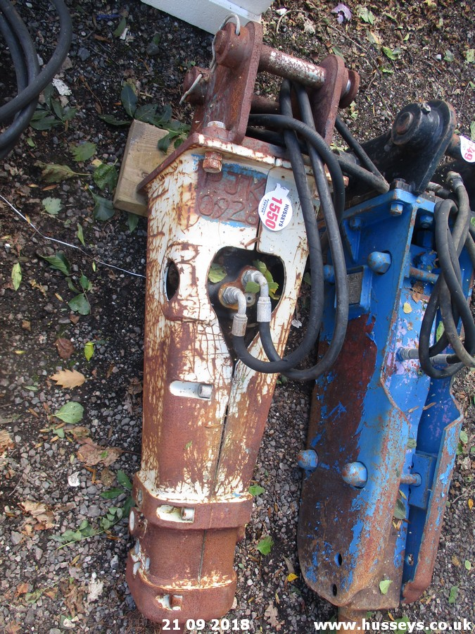 Lot 1550 - HYDRAULIC HAMMER FOR 3TON DIGGER