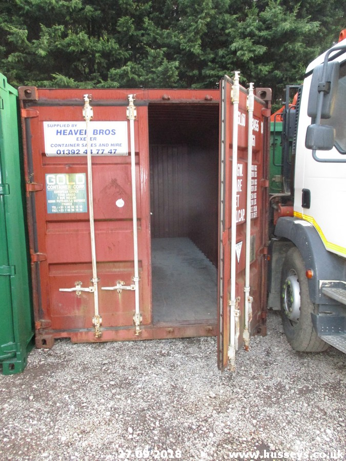 Lot 1526 - 20FT STEEL CONTAINER
