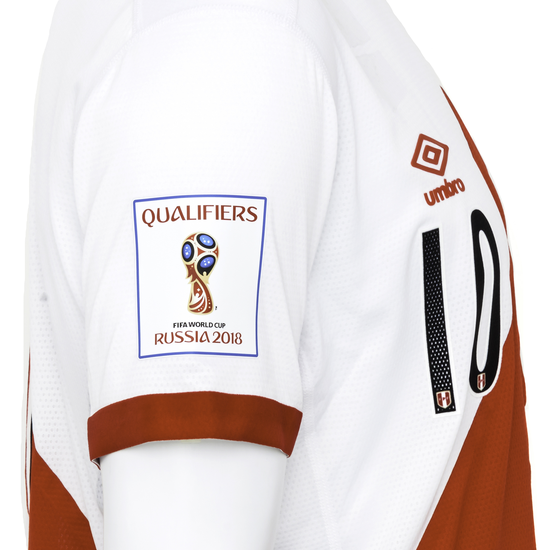 6175acdd6 ... Lot 457 - JEFFERSON FARFAN 2018 WORLD CUP QUALIFIER PERU MATCH WORN  JERSEY ...