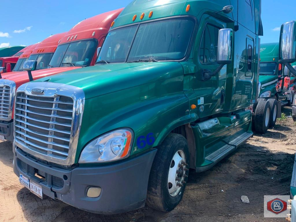 2012 Freightliner, Cascadia Cummins ISX