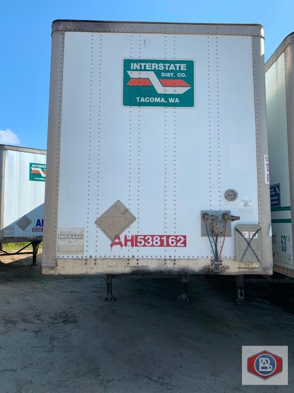 2002 Wabash 53 ft. DuraPlate Logistics Trailer
