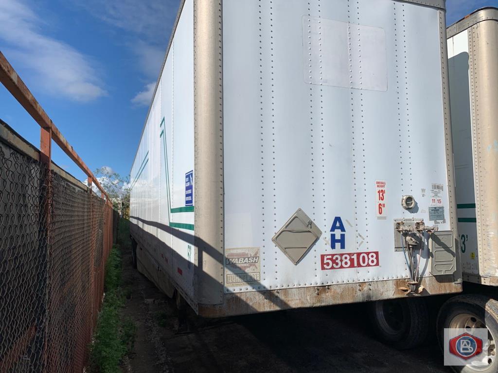 2002 Wabash 53 ft. DuraPlate Logistics Trailer - Image 2 of 6