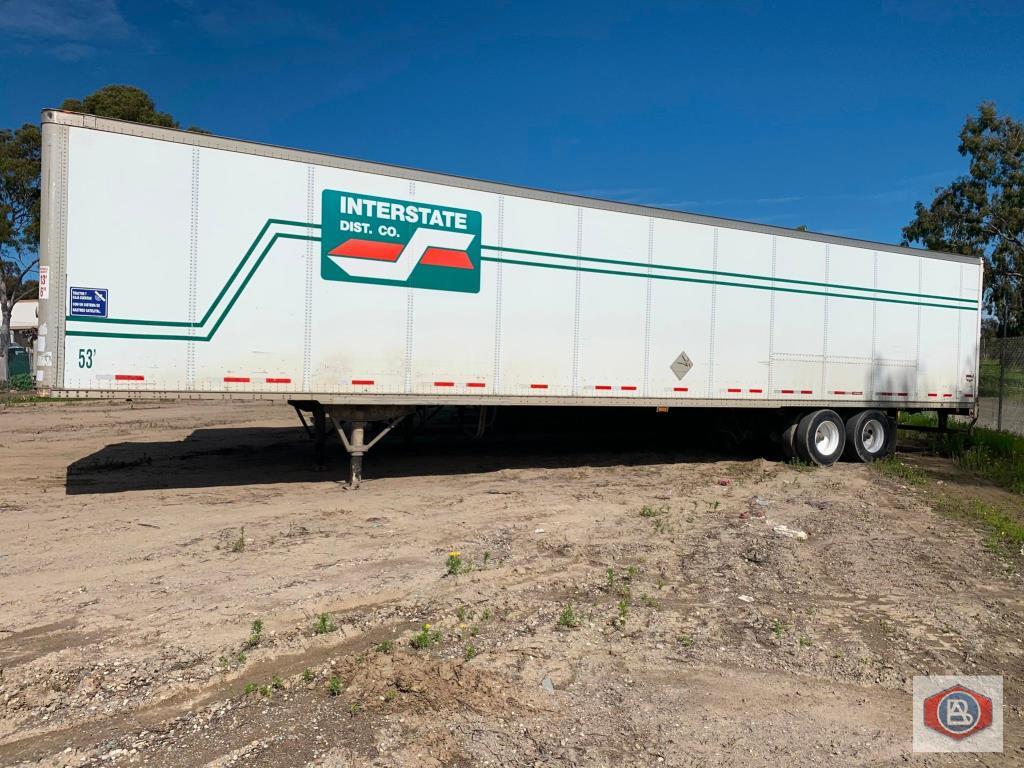 2002 Wabash 53 ft. DuraPlate Logistics Trailer - Image 3 of 6