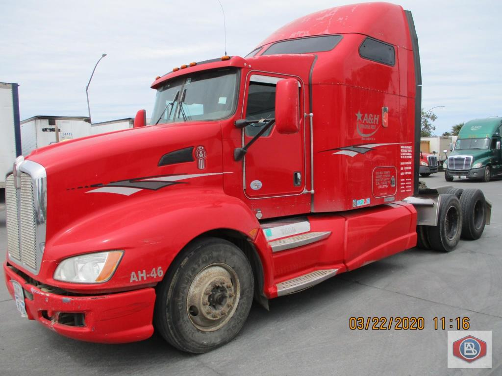 2011 Kenworth Cummins T6 ISX