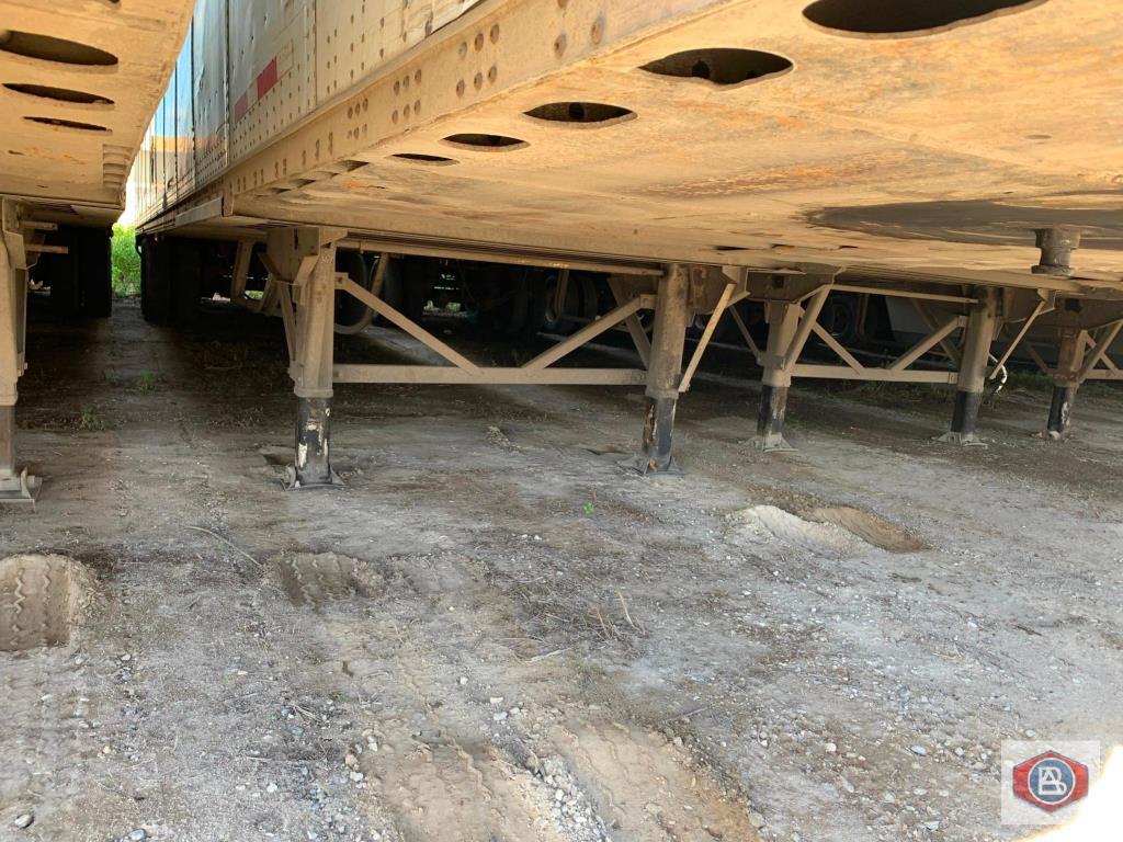 2002 Wabash DuraPlate Logistics 53ft. Van Trailer - Image 2 of 8