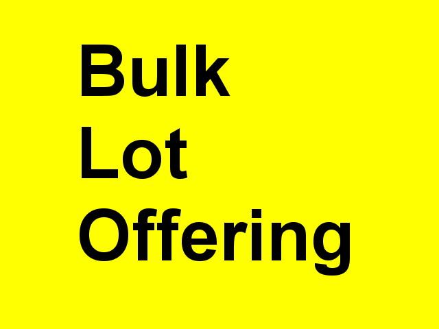 Bulk Sale for Entire Fleet of Trucks