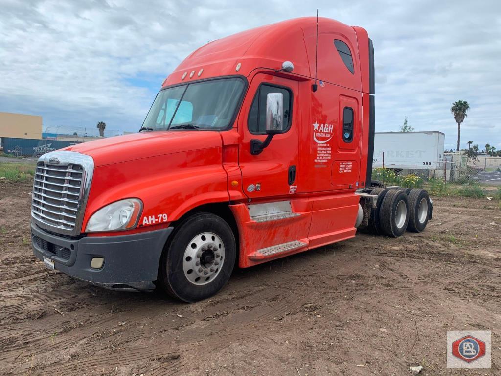 Freightliner Cascadia Cummins ISX