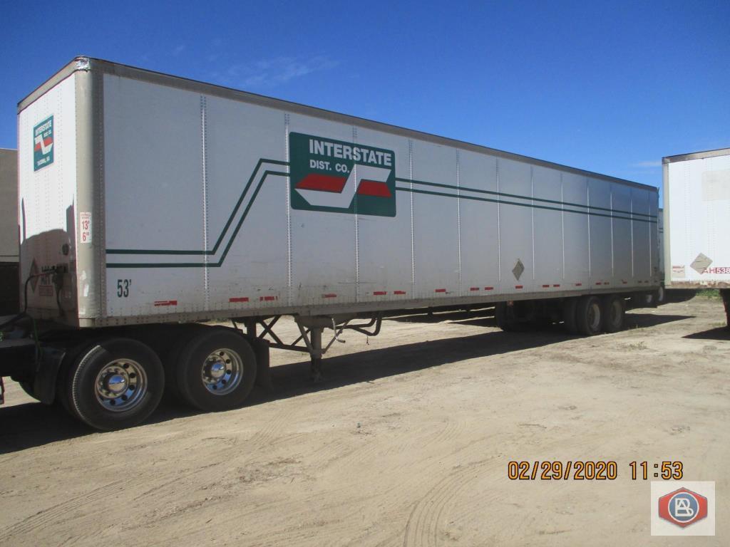 2002 Wabash DuraPlate Logistics Trailer 53 ft. - Image 3 of 7