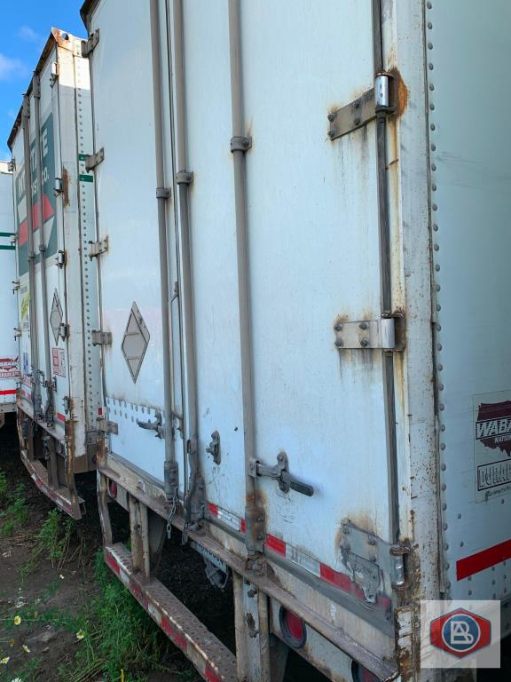 2002 Wabash DuraPlate Logistics 53ft. Van Trailer - Image 8 of 8