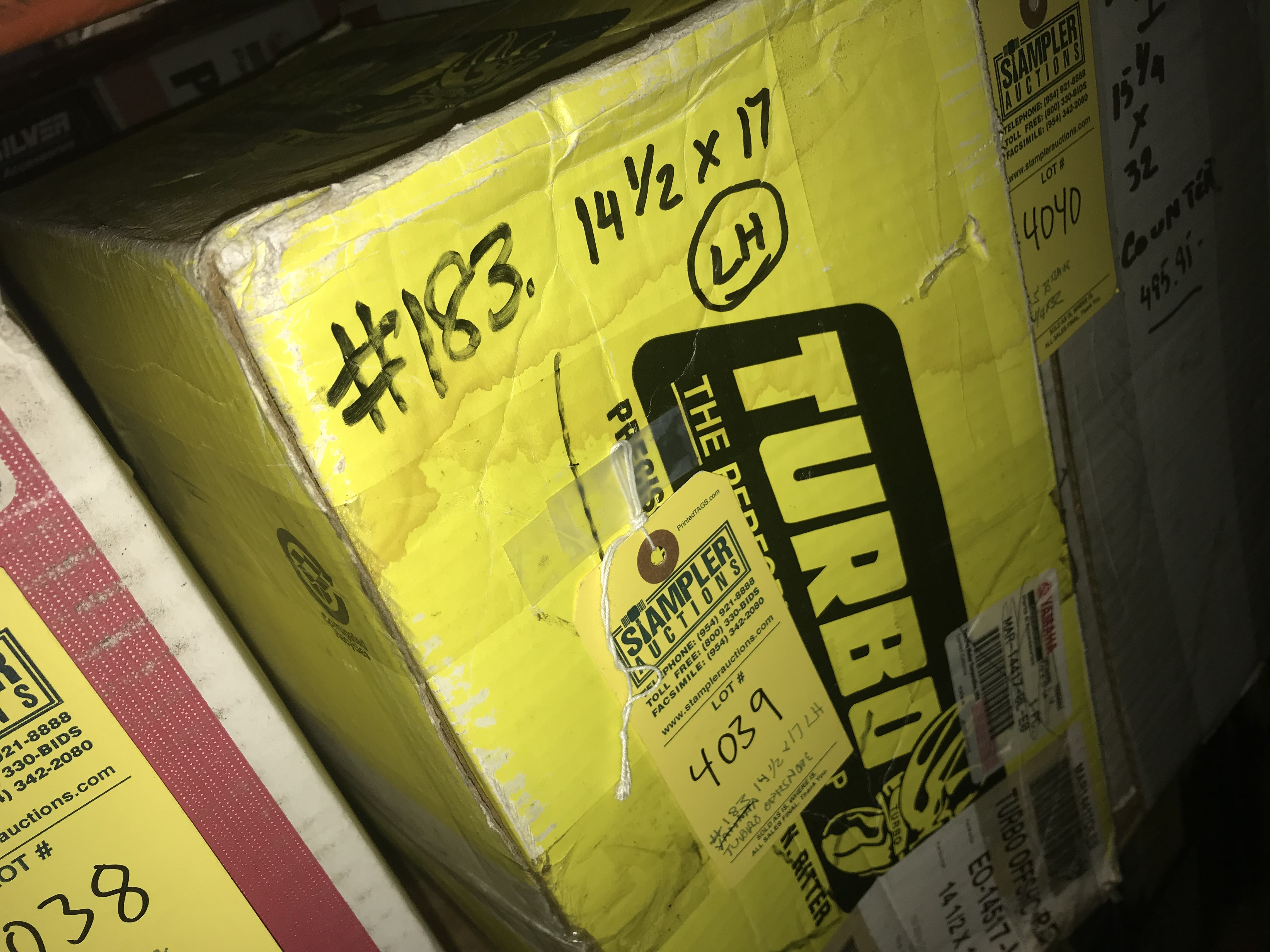 Lot 4039 - TURBO OFFSHORE LH PROPELLER - 14.5x17