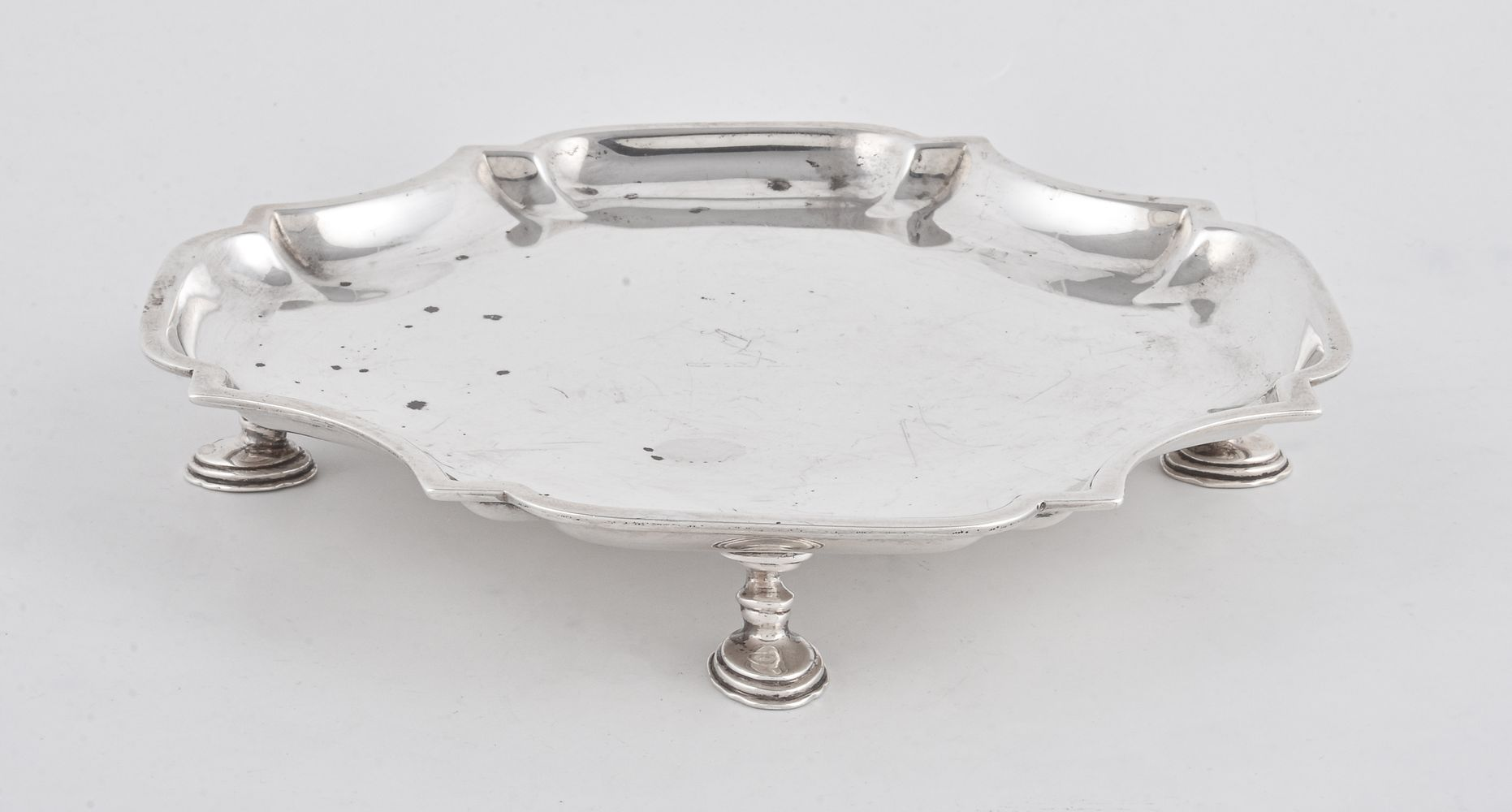 A silver waiter by William Comyns & Sons - Image 2 of 2