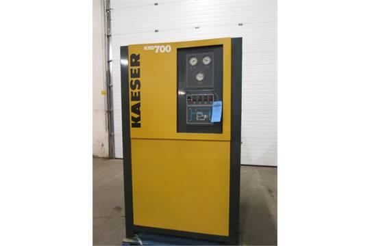 Kaeser Model KRD 700 Compressed Air Dryer 700 CFM Huge Air