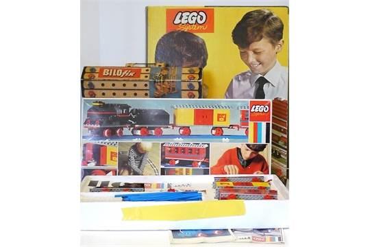 Lego And Bilofix 196039s 116 Starter Train Set With