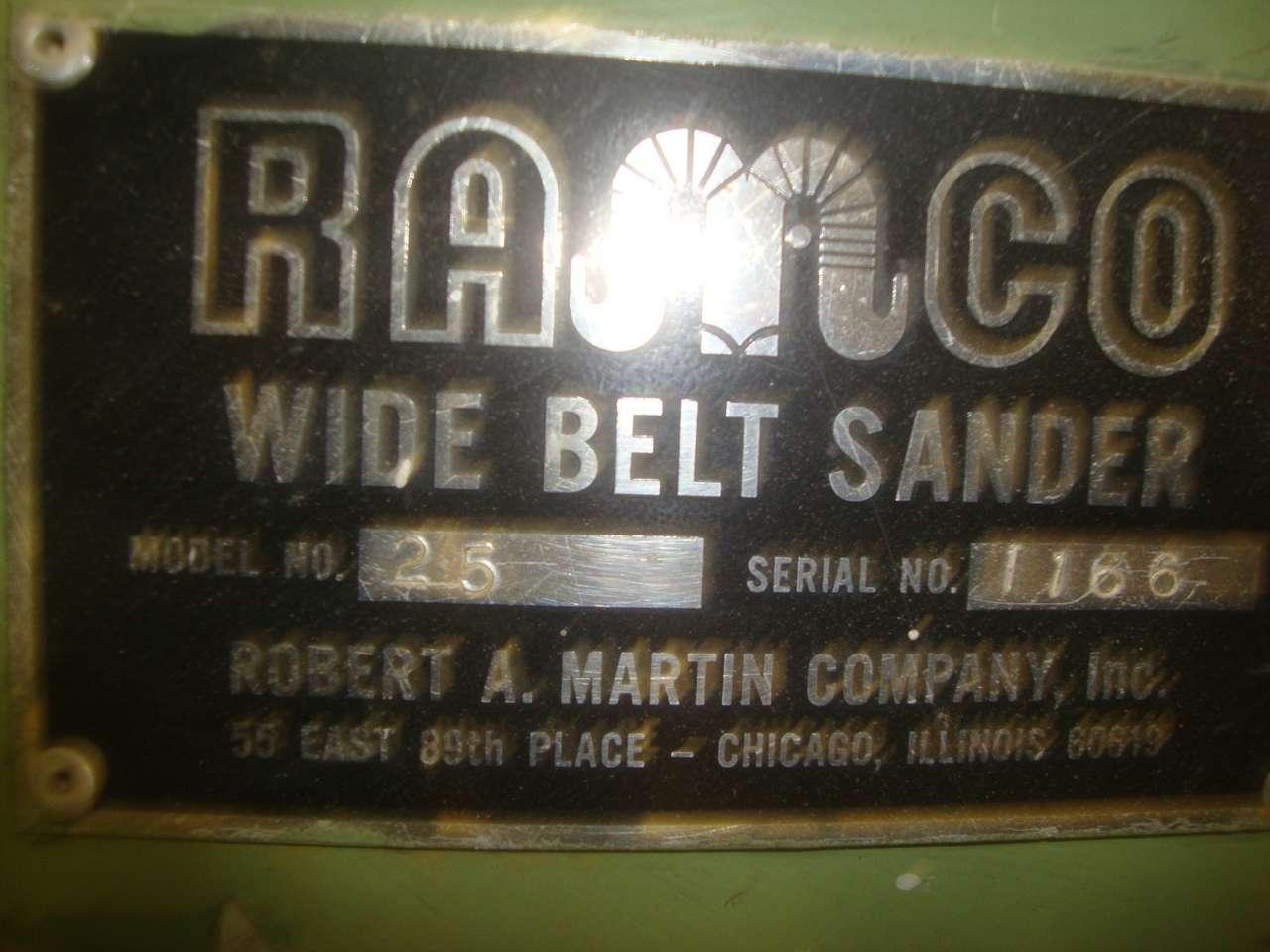 Lot 58 - Ramco 25 Belt sander