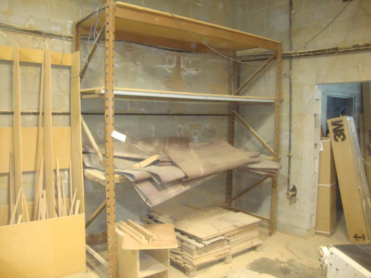 Lot 29 - Pallet rack