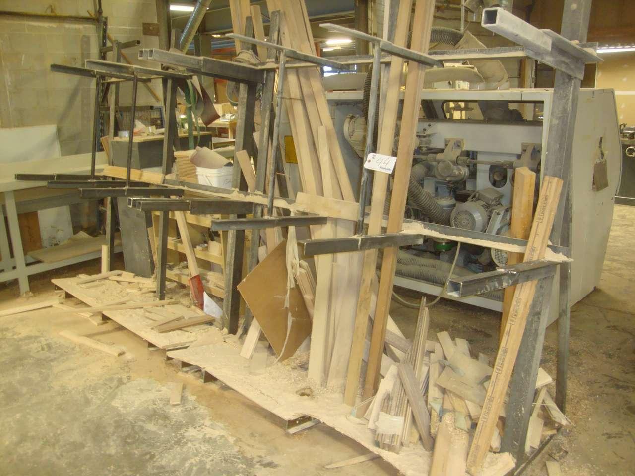 Lot 44 - Steel rack