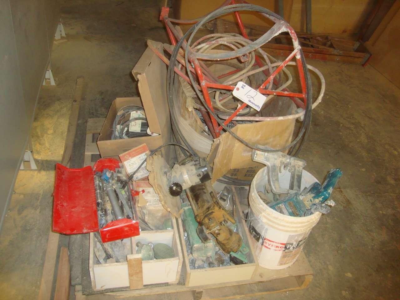 Lot 12 - Pallet of parts
