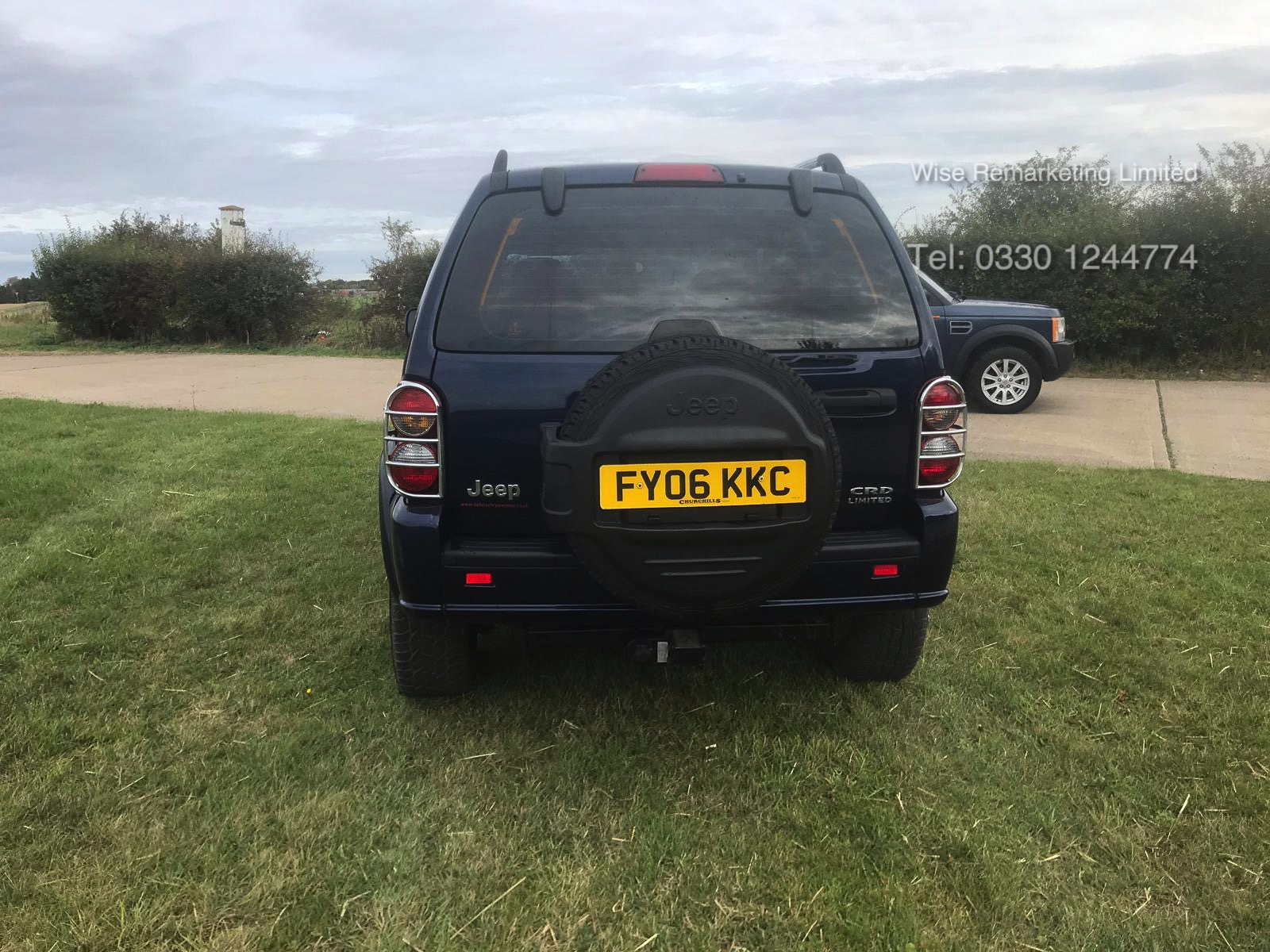 Lot 25 - ***RESERVE MET*** Jeep Cherokee 2.8 CRD Limited - Service History - 2006 06 Reg