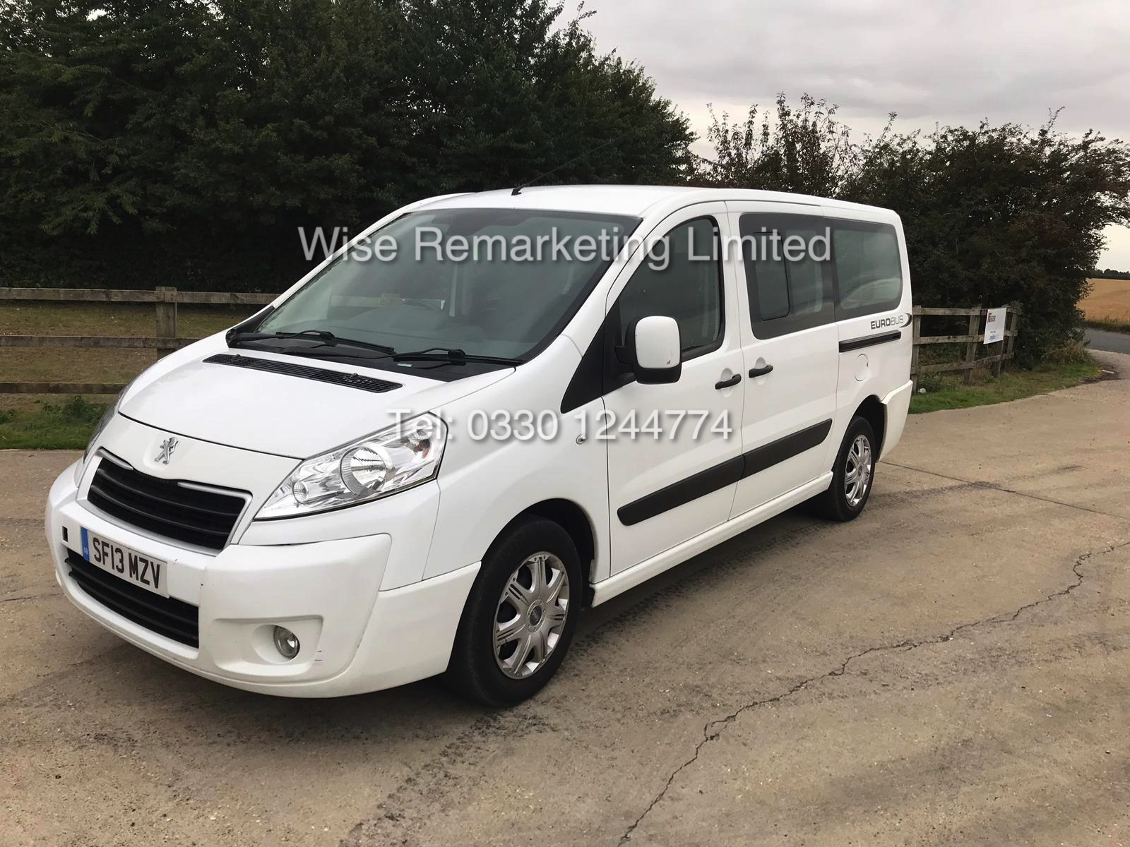 Lot 19 - PEUGEOT EUROBUS S *MPV 8 SEATER* 2.0l (2013 - 13 REG) **AIR CON** - 1 OWNER FROM NEW