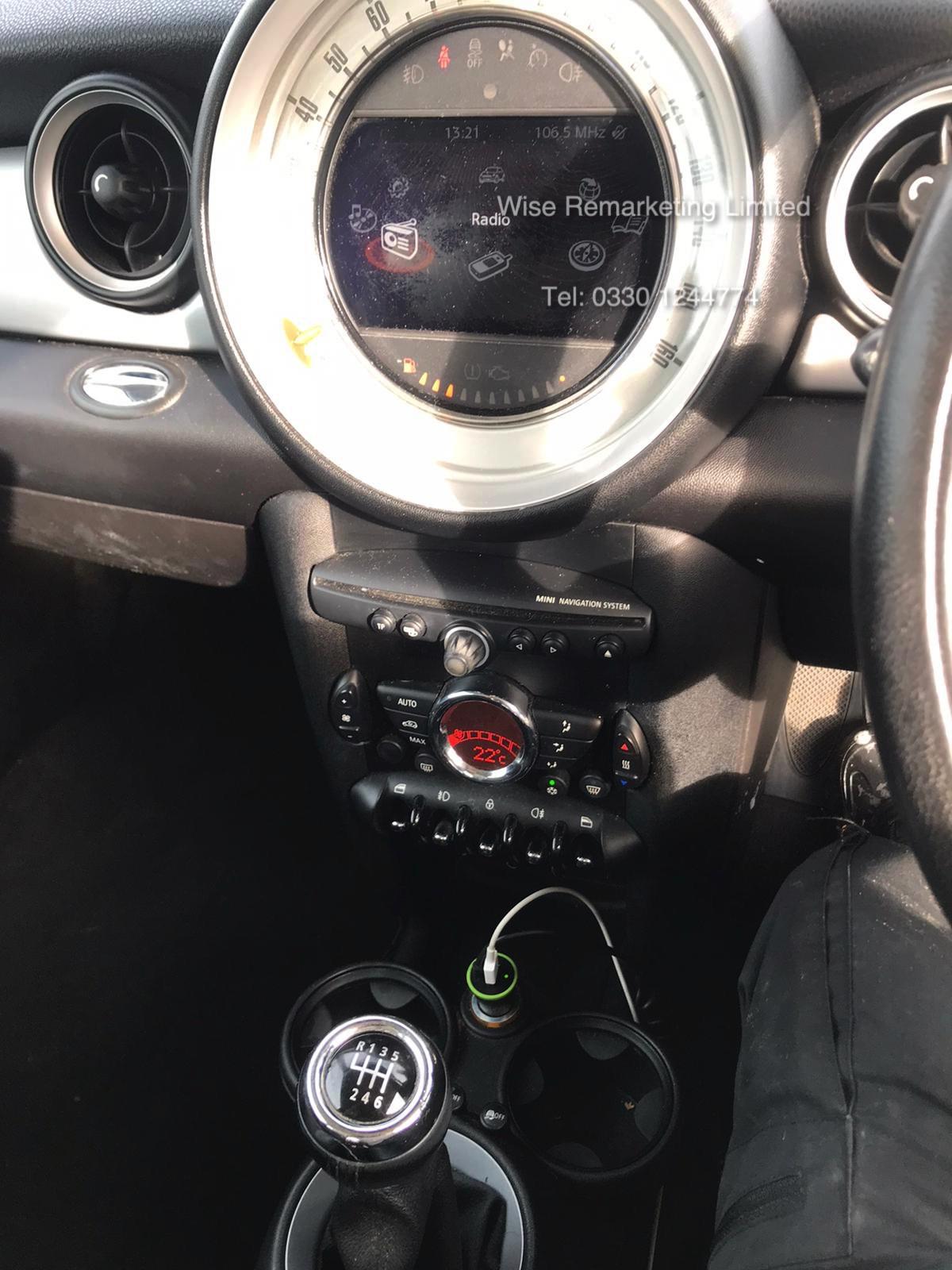 Lot 40 - Mini Cooper 1.6 D Hatchback - 2012 Model - Service History - Sat Nav