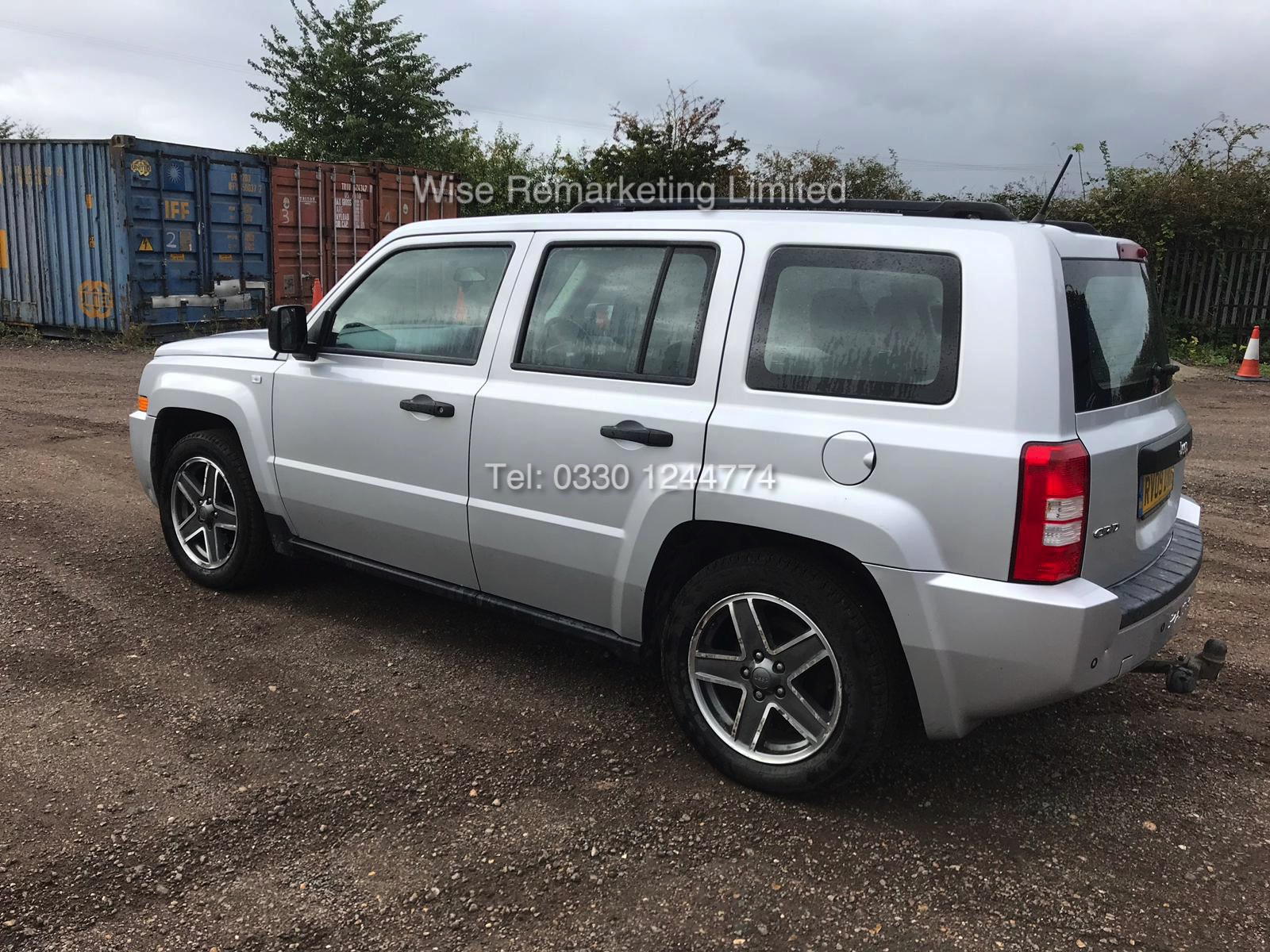 Lot 22 - JEEP PATRIOT SPORT 2.0 CRD 2009 - 09 REG - METALLIC SILVER