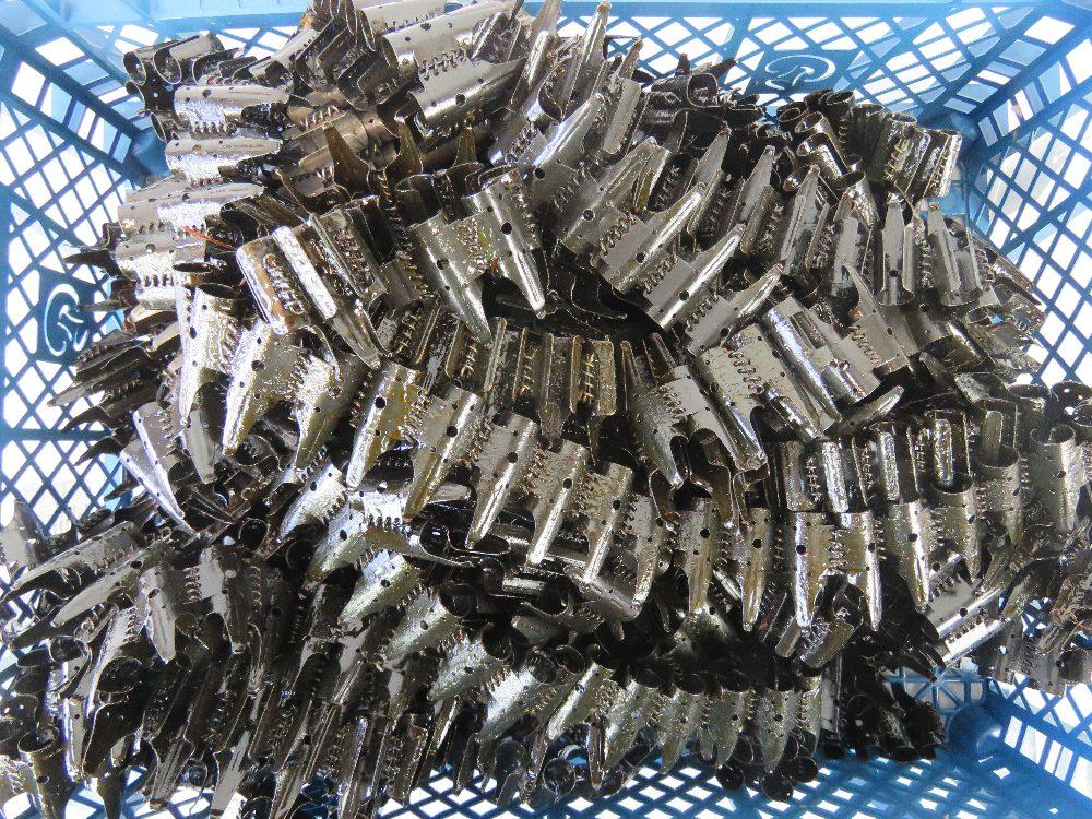Lot 53 - Twenty-five MG34/MG42/ MG53 7.92 50 round ammunition links.