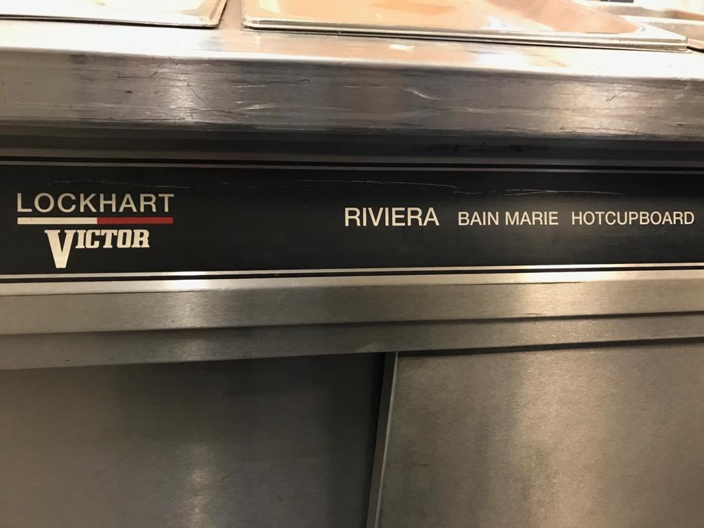 Lot 14 - Lockhart Victor Riviera Bain Marie Hot Cupboard