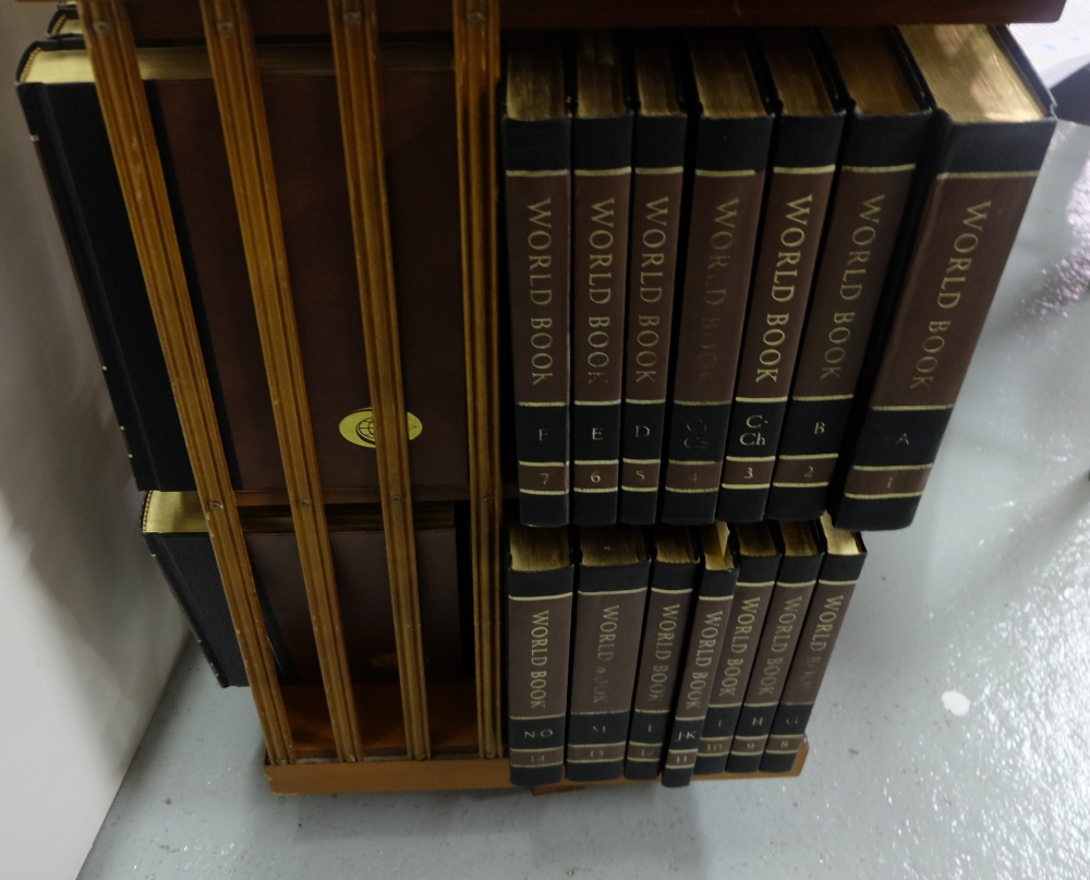 Lot 27 - 24 Vols World Book Encyclopaedias, 1978