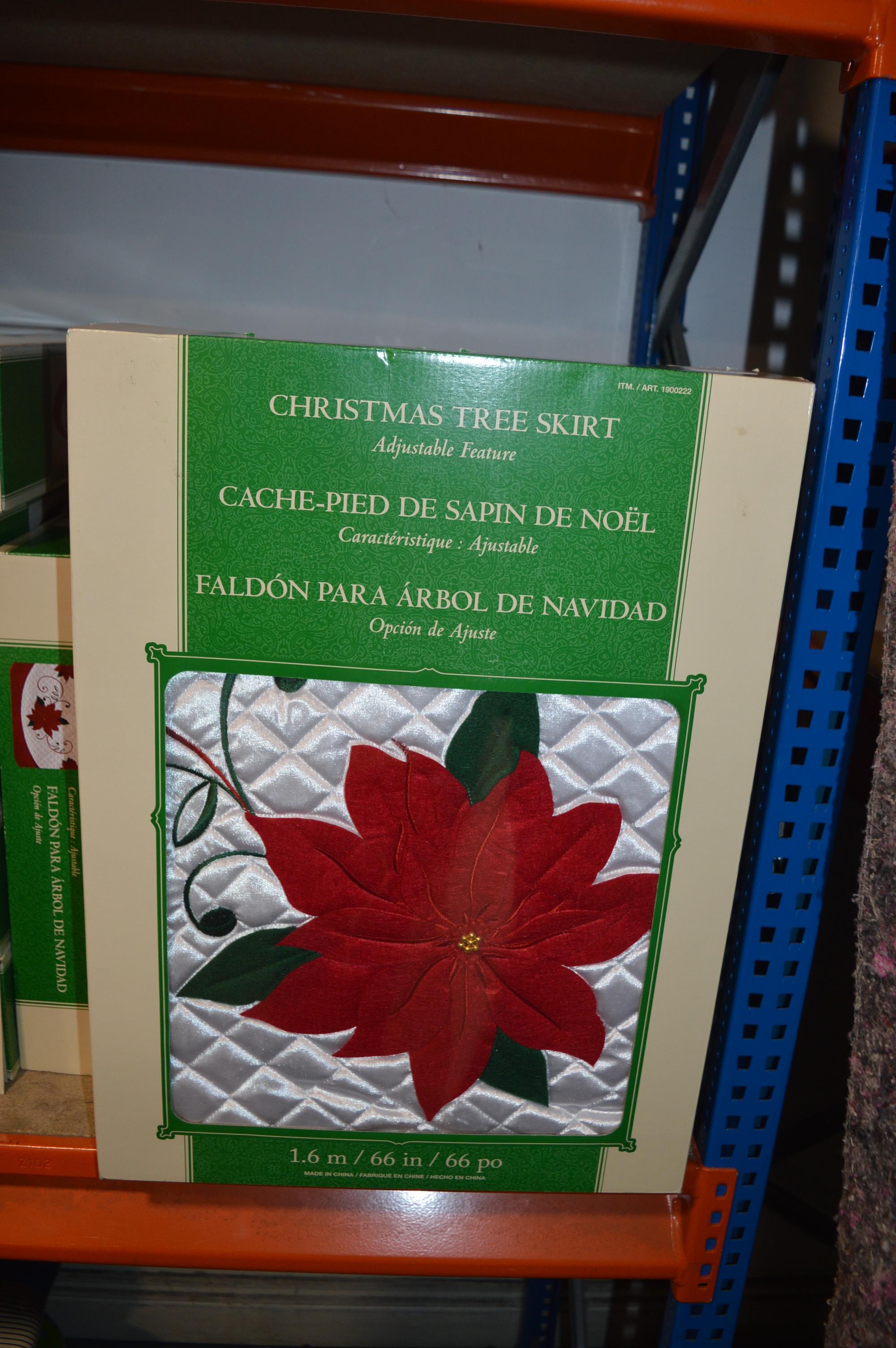 Lot 23 - *Christmas Tree Skirt 1.6m