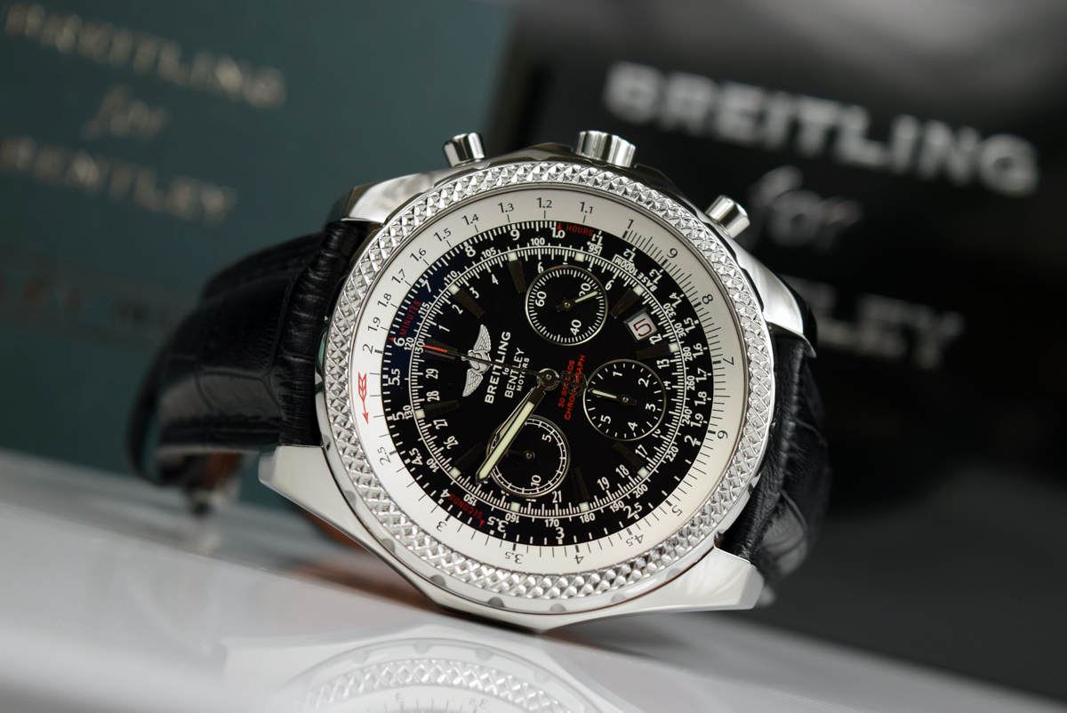 Breitling bentley motors a25362 special edition for Breitling bentley motors special edition a25362