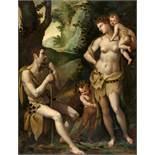 Jacopo (da Empoli) ChimentiAdam und Eva mit Kain und Abel
