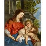 Erasmus Quellinus IIMaria mit Kind und dem hl. Johannes