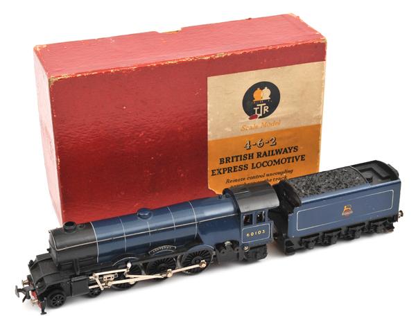 Lot 42 - TRIX 00 gauge 4-6-2 British Railways Express Locomotive (1/540). 'Scotsman' RN 60103 with 8