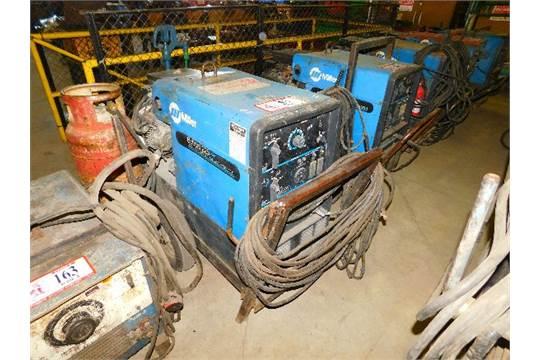 Miller Bobcat 225+ AC/DC, Welder-8,000 Watt Generator, W/LP