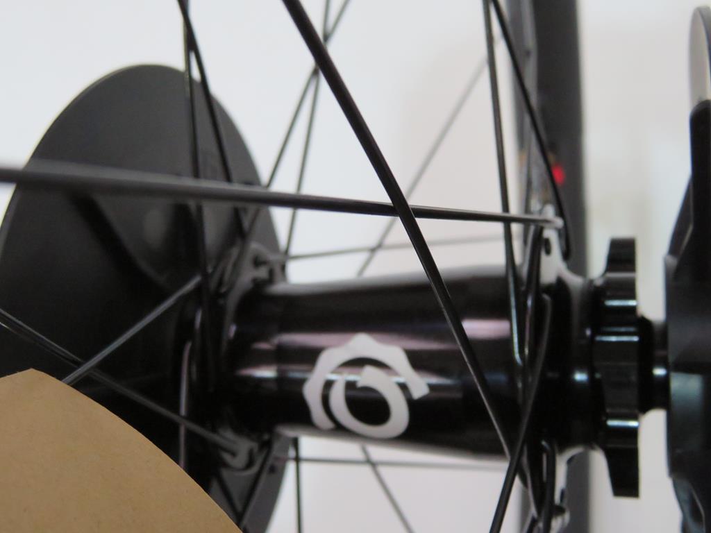 Lot 8 - Santa Cruz Reserve 30 Carbon Wheelset with Industry Nine Hubs