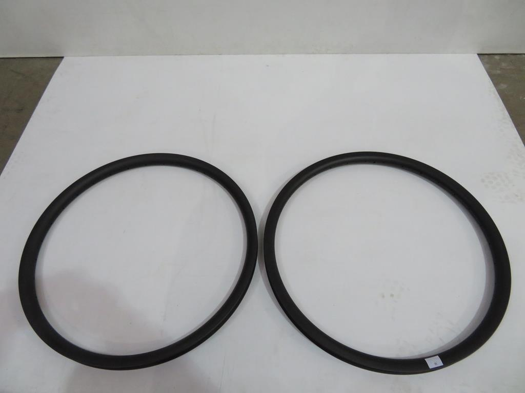 Lot 15 - An unbranded Pair of Carbon Wheel Rims