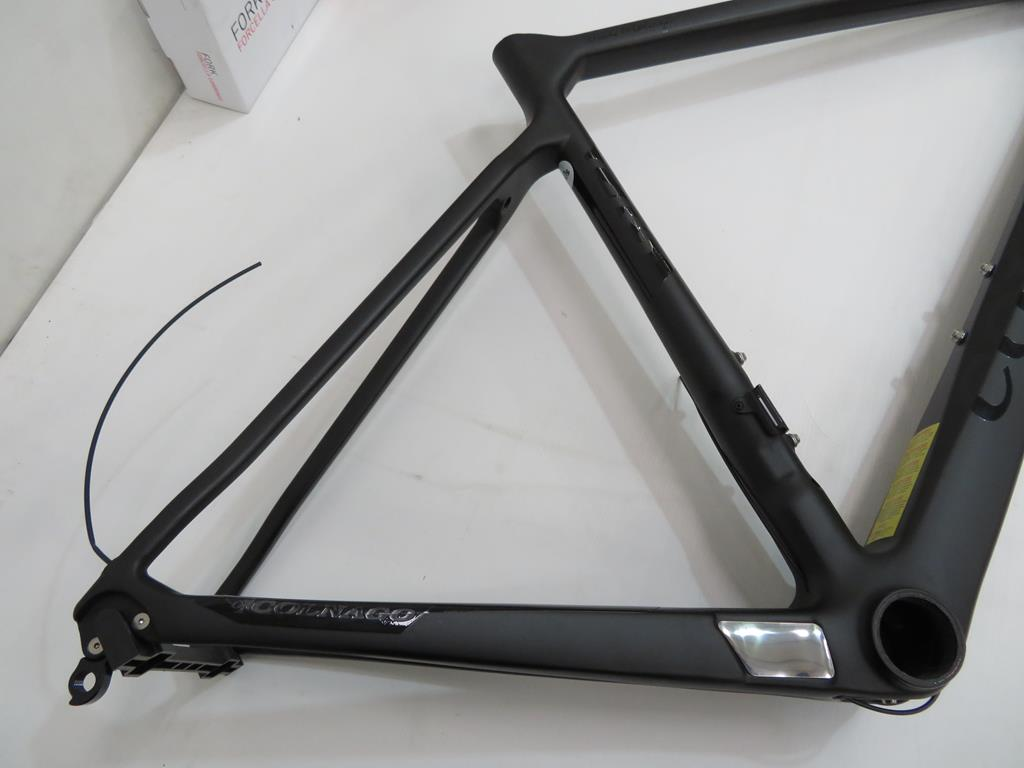 Lot 5 - Colnago C-RS Carbon Bike Frame with a boxed Colnago Forcella Carbonio Fork