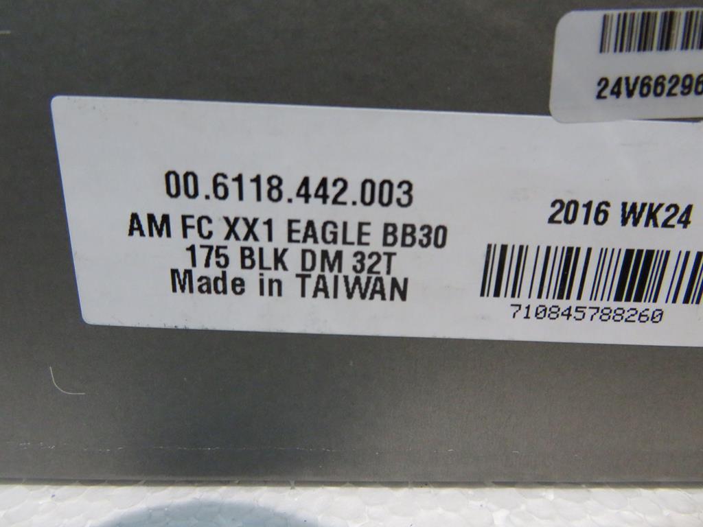 Lot 29 - Sram XX1 Eagle 32T BB30 Crankset