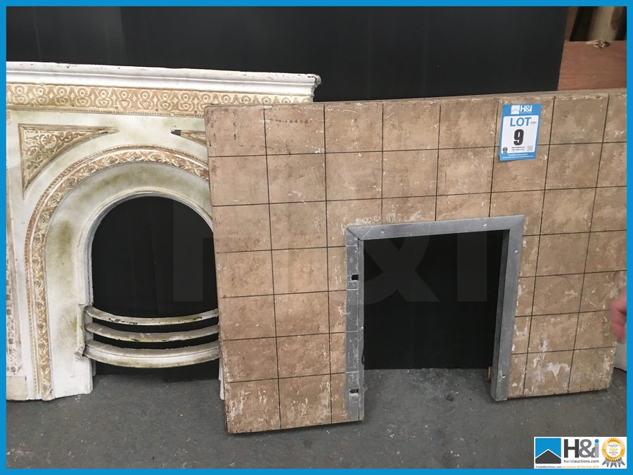 2 Off Wooden Stage Prop Fireplaces