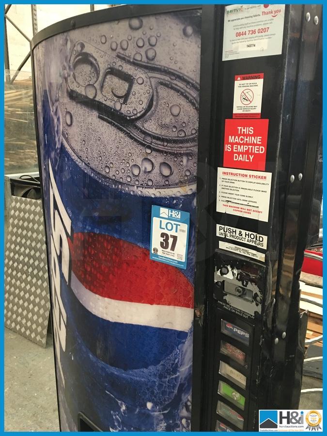 Man Cave Vending Machine : Pepsi drinks vending machine front ideal man cave item