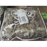 Large Deluxe Faux Fur heated Throw.120cm x 160cm. Packaged but untested
