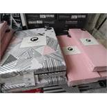 Santuary Bailey Single Bedding set that includes Duvet cover, Pillow Case & Deep Box Fitted Sheet.