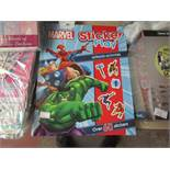 12 x Marvel Sticker Play Ultimate Activities Books with over 60 Stickers in each. Unused