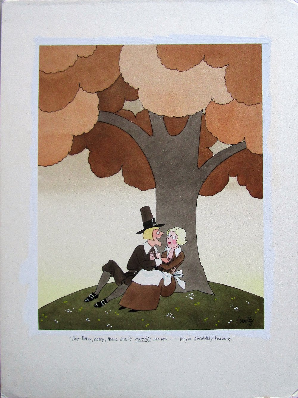 Lot 35 - Smilby, Francis Wilford-Smith 'But Betsy, honey, these aren't earthly desires - they're ...'