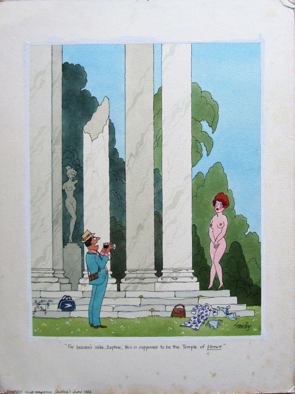 Lot 42 - Smilby, Francis Wilford-Smith For heaven's sake, Daphne, this is supposed to be the Temple of Venus