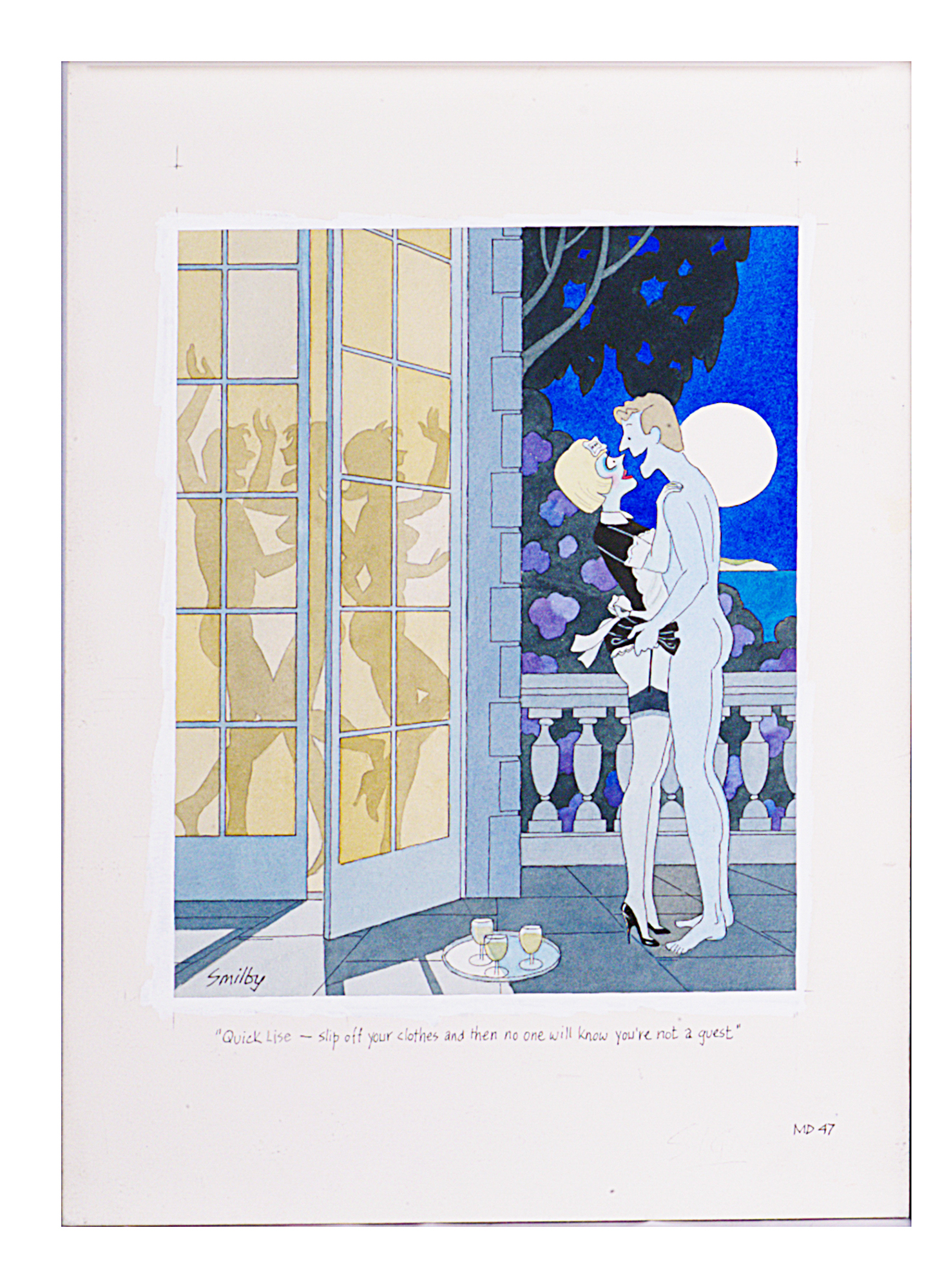 Lot 27 - Smilby, Francis Wilford-Smith 'Quick Lise - slip off your clothes and then no one will know ..'
