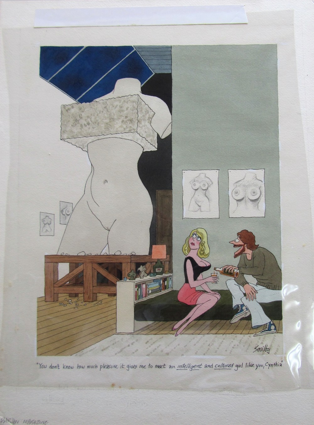Lot 9 - Smilby, Francis Wilford-Smith 'You don't know how much pleasure it gives me to meet ...'