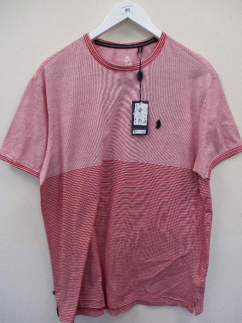 Lot 60 - United Kingdom of Luke t-shirt - red - XXL RRP £40