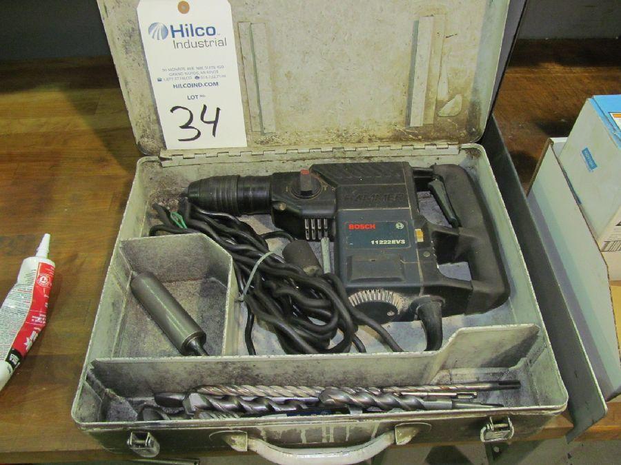 Bosch Model 11222EVS Rotary Hammer Drill
